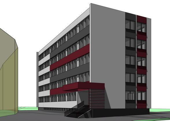 Daňový úrad Rožňava, rekonštrukcia